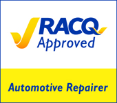 3 RACQ Approved Logo WITH  BLUE KEY line  For White Back round  Full Col AR 21