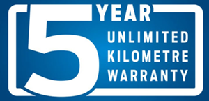 5 year unlimited warranty