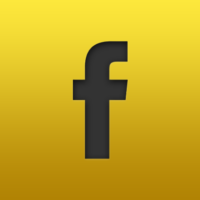 yellow facebook logo 320x200