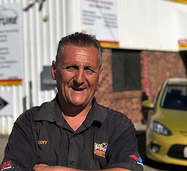 Scott Glendinning at Future Auto Sumner park