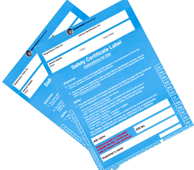 Queensland safety certificates